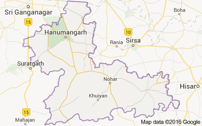 Hanumangarh district, Rajasthan