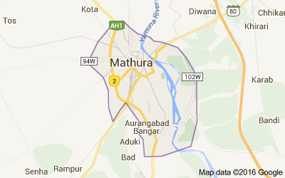 Mathura district, Uttar Pradesh