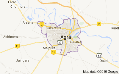 Agra district, Uttar Pradesh