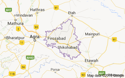 Firozabad district, Uttar Pradesh