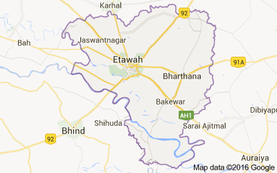 Etawah district, Uttar Pradesh