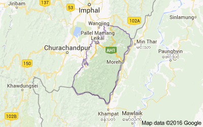 Chandel district, Manipur