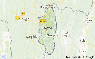 Champhai district, Mizoram