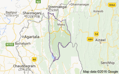Dhalai district, Tripura