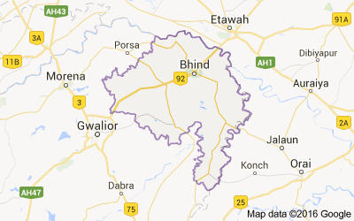 Bhind district, Madhya Pradesh