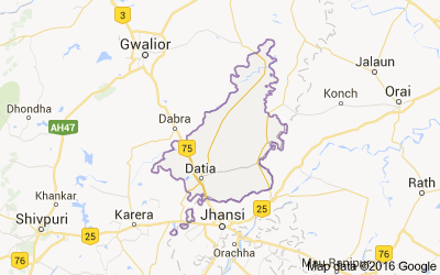 Datia district, Madhya Pradesh