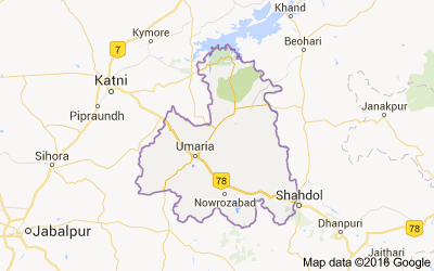 Umaria district, Madhya Pradesh