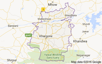 Khargone district, Madhya Pradesh