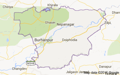 Burhanpur district, Madhya Pradesh