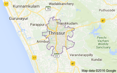 Thrissur district, Kerala