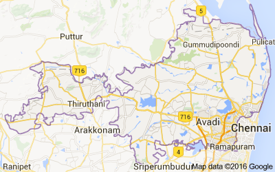 Thiruvallur district, Tamil Nadu