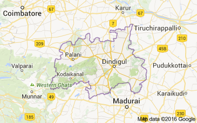 Dindigul district, Tamil Nadu