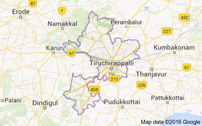 Tiruchirappalli district, Tamil Nadu