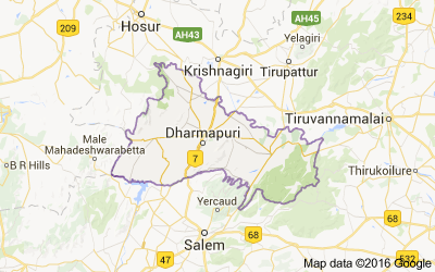 Dharmapuri district, Tamil Nadu